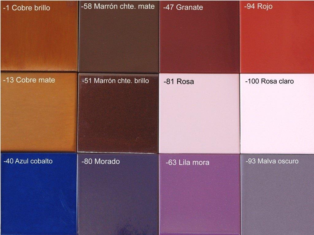 Tienda de cer mica elija el color de su pieza - Colores de ceramica ...